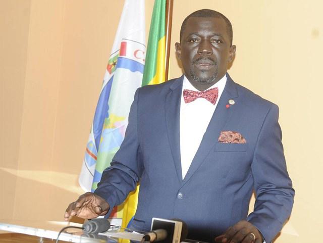 Nicaise Moulombi, président de l'ONG Croissance saine environnement / Gabonactu.com