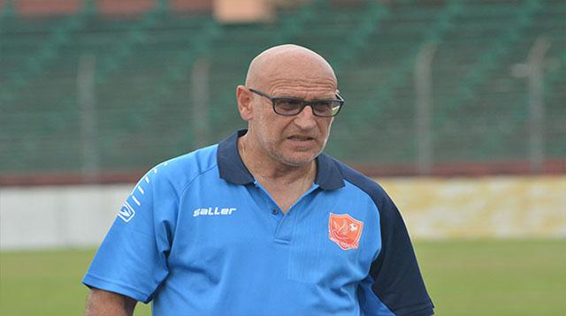 Patrice Neveu, coach des Panthères du Gabon