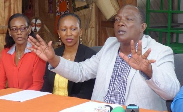 Georges Mpaga, président du ROLBG