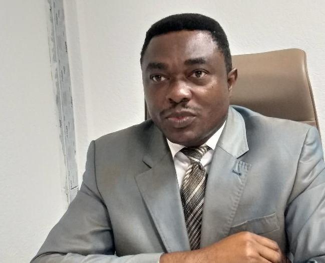 André Patrick Roponat, procureur de la République le 7 février 2020 / Gabonactu.com