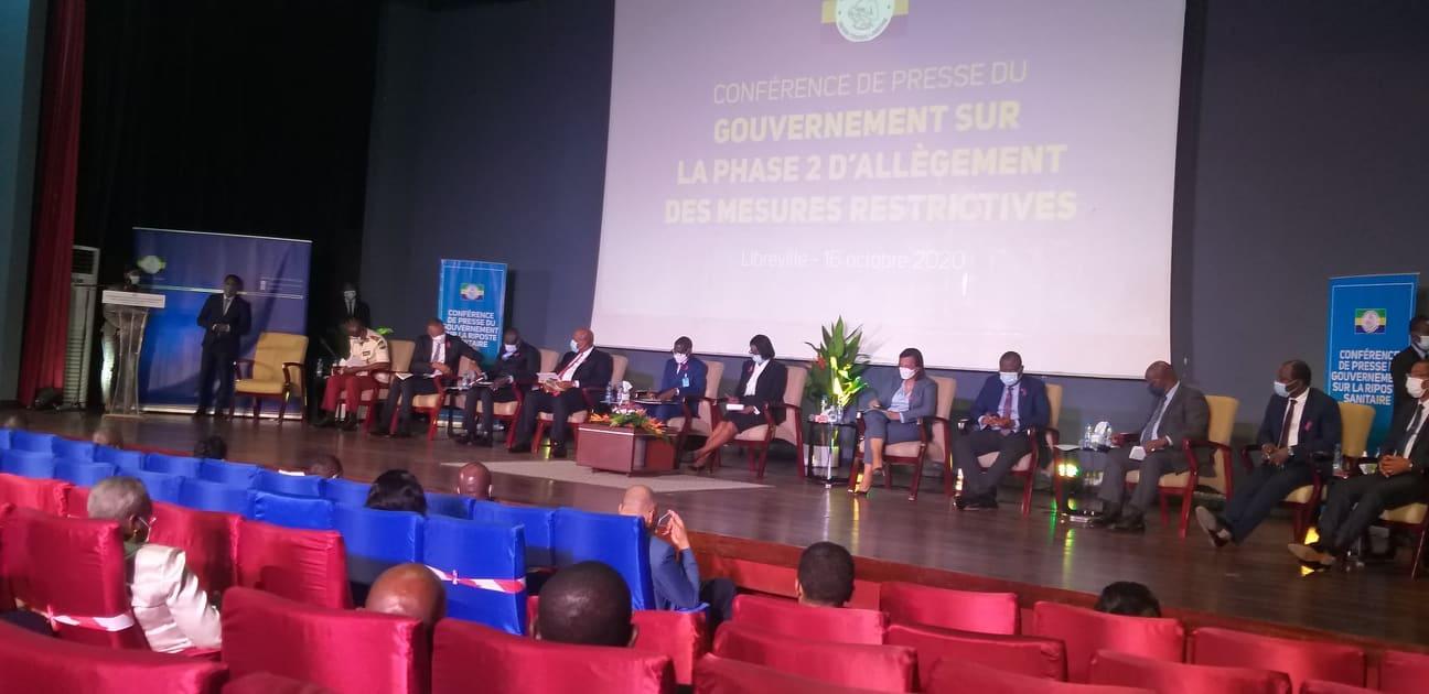 conférence de presse gouvernementaile sur la 2ème phase du déconfinement / Gabonactu.com