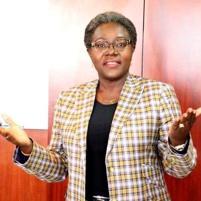 Le Délégué général CLR , Dr Nicole Assélé © D.R