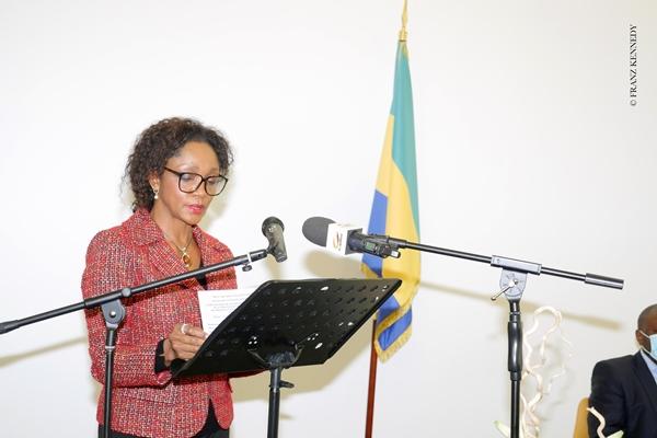 Liliane Massala, ambassadeur du Gabon en France / Gabonactu.com
