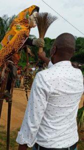 Les populations ont prononcé des paroles de bénédictions et réaffirmé leur soutien à l'egard leur généreux fils ©  AM