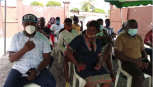 Les militants de l'ex DN durant la séance d'explications et de mobilisation ©  Gabonactu.com
