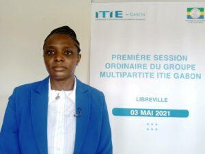 La présidente de l'ITIE Gabon, Léontine Tania Oyouomi Loumbou Bibey ©  Gabonactu.com