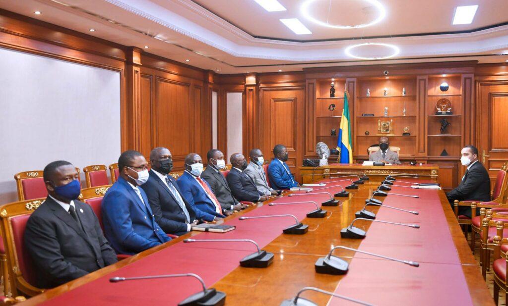 Les cadres de RV et du SDG  chez Ali Bongo Ondimba / Gabonactu.com