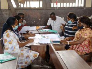 La formation a eu également lieu en ateliers © Gabonactu.com